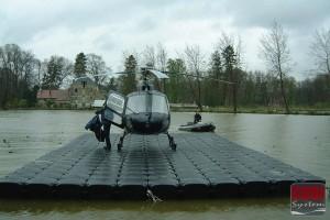 Hubschrauber Plattformen