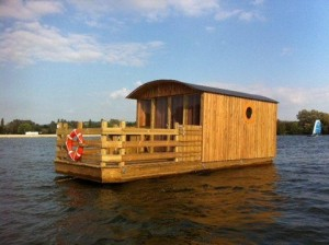 Floating docks for floating homes