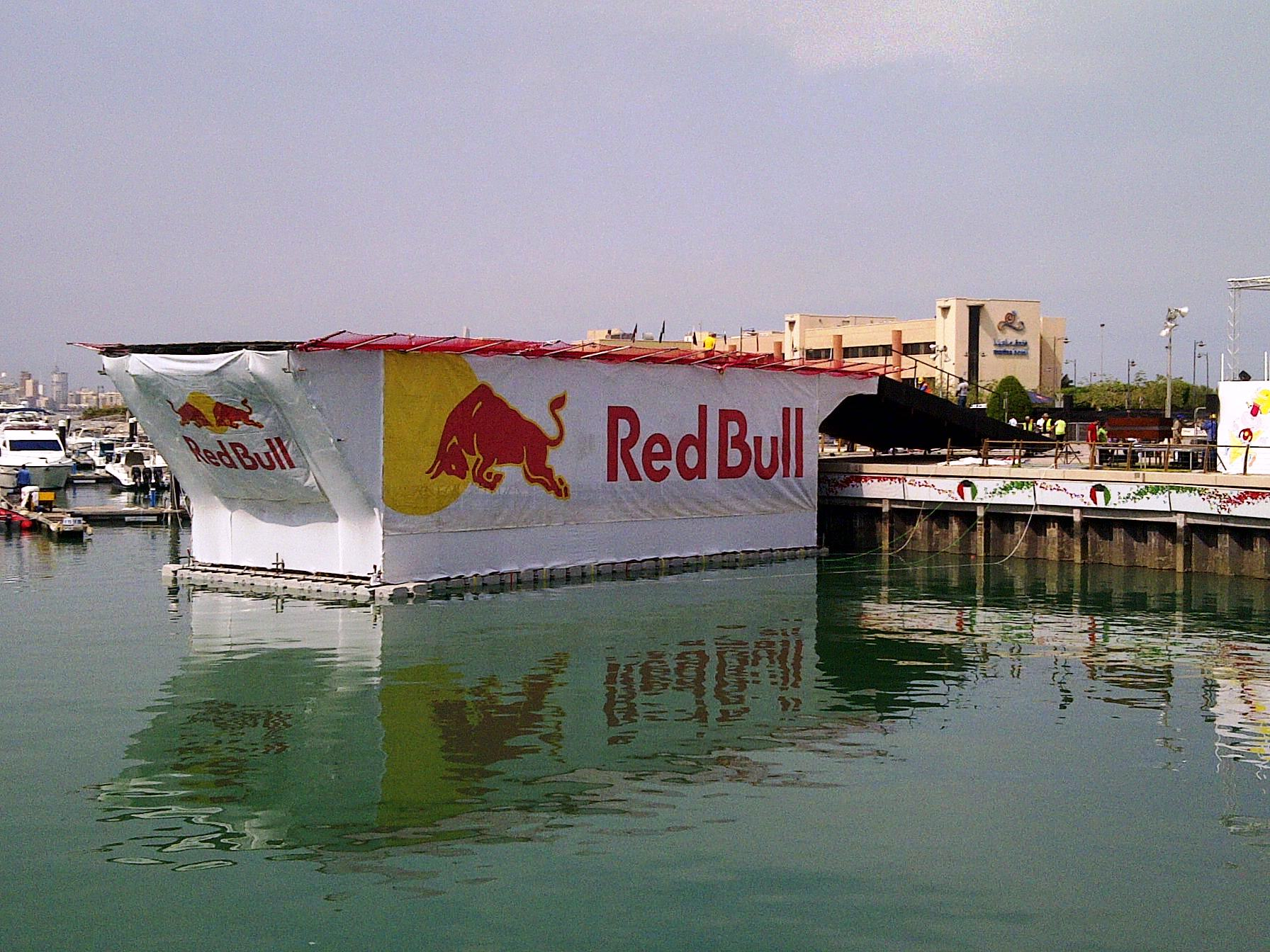 RED BULL FLUG TAG - KOWEIT CITY -