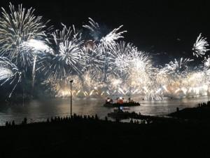 Embarcações para fogo-de-artifício