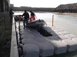 Dock flottant