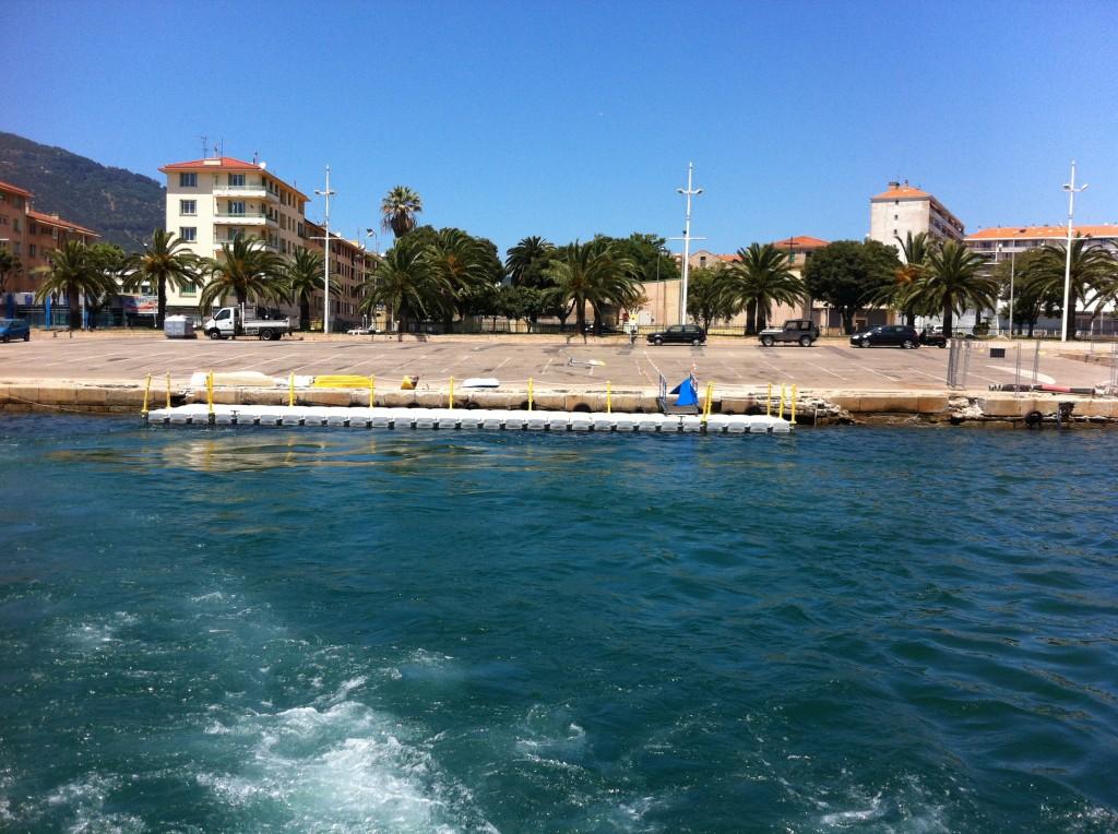 pontons flottants modulaires