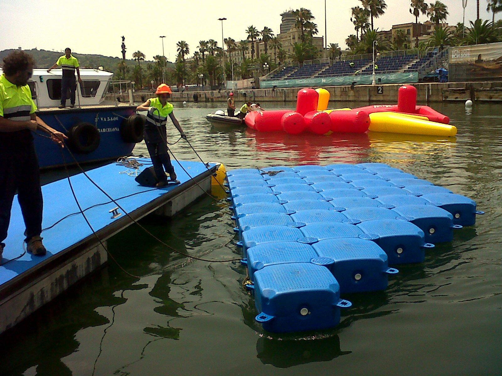 pontons modulaires